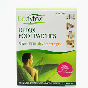 Detox Foot Patches Stor pakke