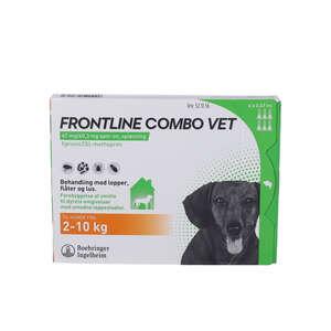 Frontline Combo Vet. (hund 2-10 kg) 6 stk