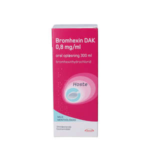 "Bromhexin ""DAK"" 300 ml"