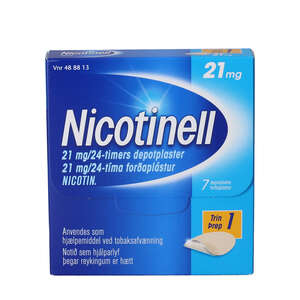 Nicotinell 21 mg/24 timer 7 stk