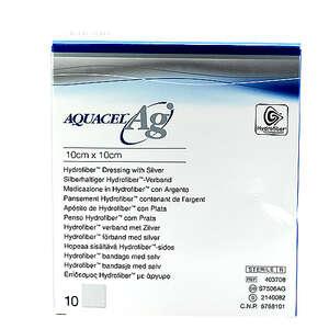 Aquacel Ag Hydrofiber Bandage (10 cm)