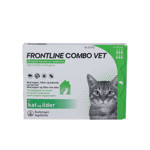 Frontline Combo Vet. (til kat) 6 stk