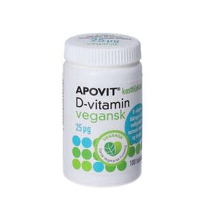Apovit D-vitamin Vegansk 25 mikrg (1000 IE) 100 stk