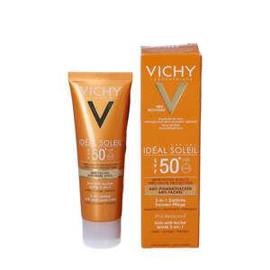 Vichy Idéal Soleil 3-i-1 Tinted Sun Cream
