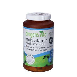 Drogens Vital Multivitamin med urter 50+