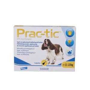 Prac-tic Spot-on opløsning (hund 11-22 kg)