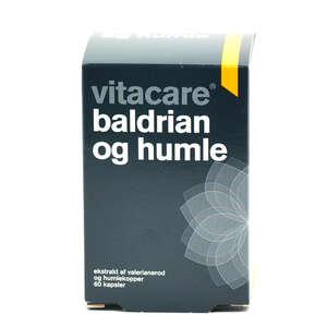 VitaCare Baldrian og Humle Kapsler