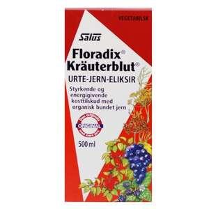 Floradix Kräuterblut eliksir (500 ml)
