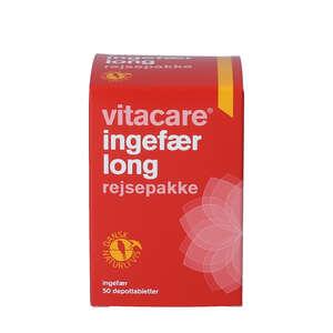 VitaCare Ingefær Long depottabletter
