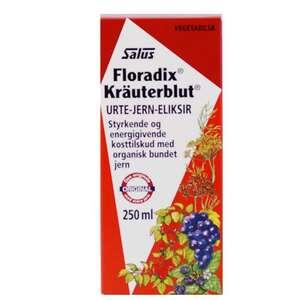 Floradix Kräuterblut eliksir (250ml)