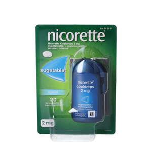 Nicorette Cooldrops 2 mg 20 stk