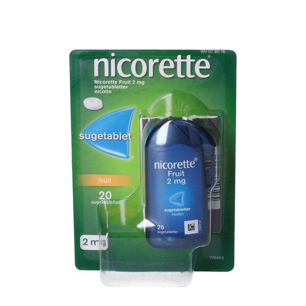 Nicorette Fruit 2  mg 20 stk