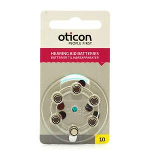 Oticon batterier høreapp 10