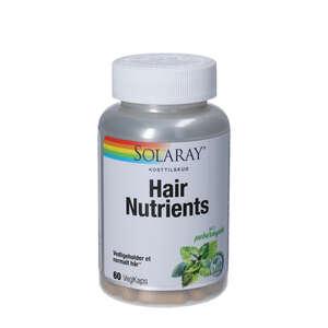 Solaray Hair Nutrients kapsler
