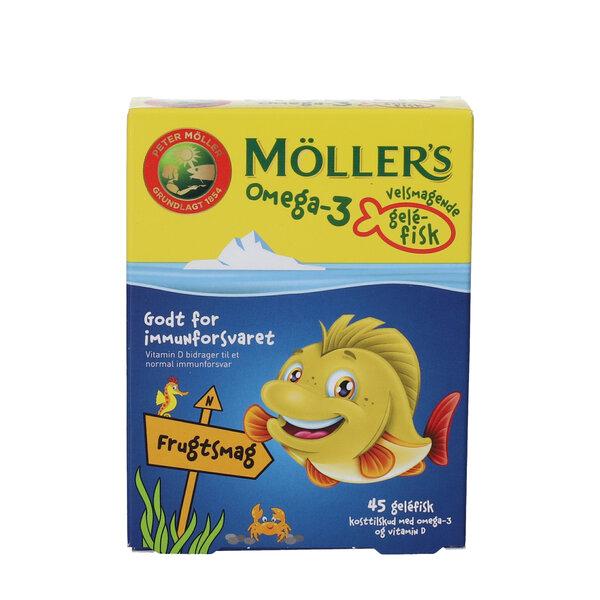 Möllers Omega-3 fisk (frugt)