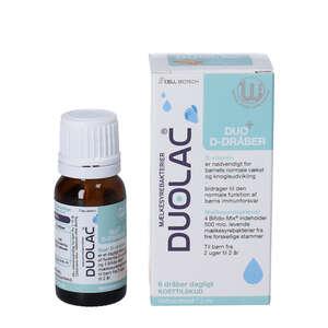 Duolac Duo+ D-dråber (7,5 ml)
