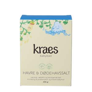 KRAES Babybad Havre & Dødehavssalt (200 g)