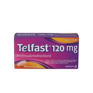 Telfast 120 mg 30 stk