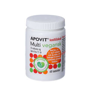 Apovit Multi vegansk tabletter