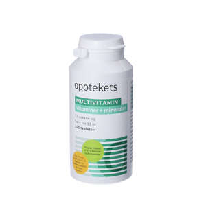 Apotekets Multivitamin tabletter