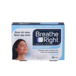 Breathe Right Næsestrips (10 stk)