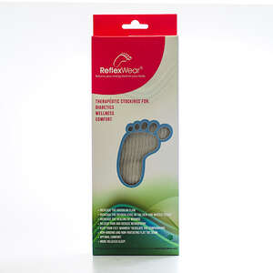 Reflexwear Terapeutisk Ankelstrømpe (M/Tyk/Natur)