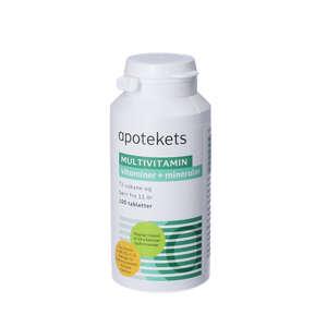 Apotekets Multivitamin tabletter