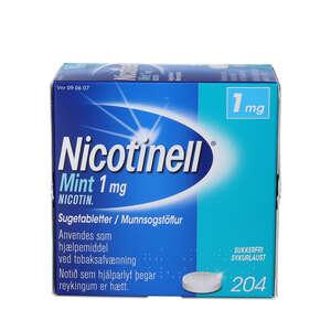 Nicotinell Mint 1 mg 204 stk