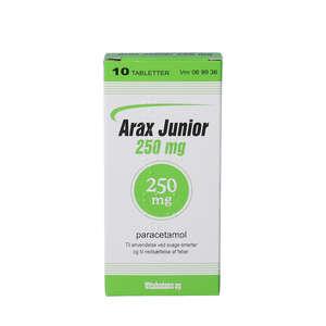 Arax Junior 250 mg 10 stk