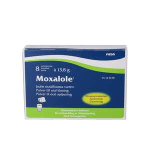 Moxalole pulvere til oral opløsning 8 stk