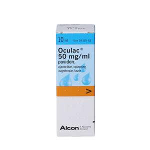 Oculac øjendråber 10 ml