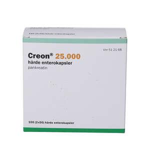 Creon (PA) 25.000EP 2 * 50 stk