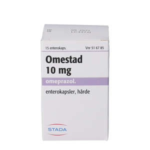 Omestad 10 mg 15 stk