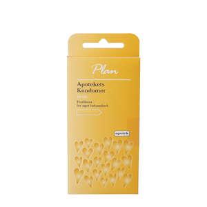 Plan Kondomer (gul)