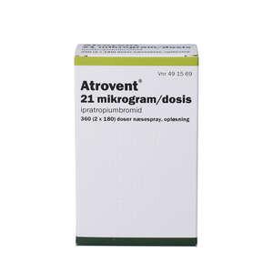 Atrovent næsespray (PA) 2*180 doser