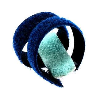Karstam Fingerskinne Velcro (M-blå)