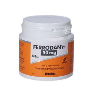 Ferrodan Fe2 + 50 mg Tabletter
