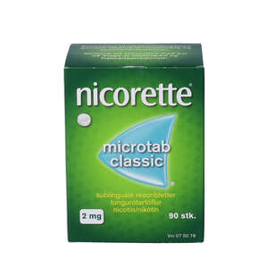 Nicorette Microtab Classic2 mg 90 stk