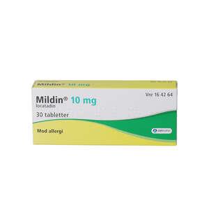 Mildin 10 mg 30 stk