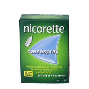Nicorette næsespray 200 doser