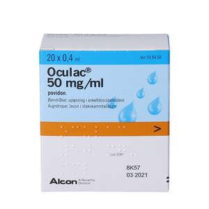 Oculac øjendråber 20 * 0,4 ml