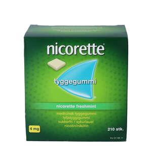 Nicorette Freshmint 4 mg 210 stk