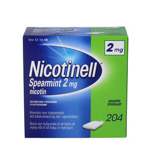 Nicotinell Spearmint 2 mg 204 stk