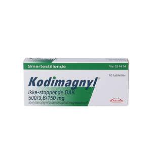 "Kodimagnyl Ikke-stoppende ""DAK 10 stk"