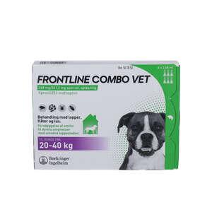 Frontline Combo Vet. (hund 20-40 kg) 6 stk