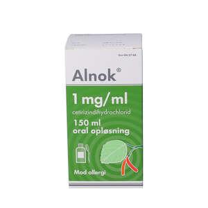 Alnok 1 mg/ml 150 ml