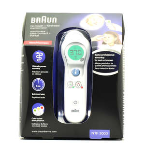 Braun No-Touch + Forehead Termometer
